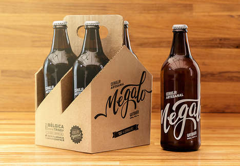 Design Studio Brews - Megalo Beer is a Clever Promotional Item from Megalo Design