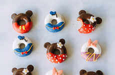 Cartoon Character Pastries - These Disney Donuts from Fork to Belly Look Like the Classic Icons