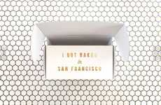 Minimalist Pastry Packaging - This Mr Holmes Bakehouse Package Design is Perfectly San Francisco