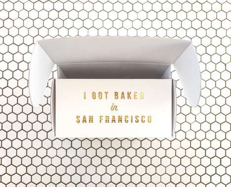 Minimalist Pastry Packaging