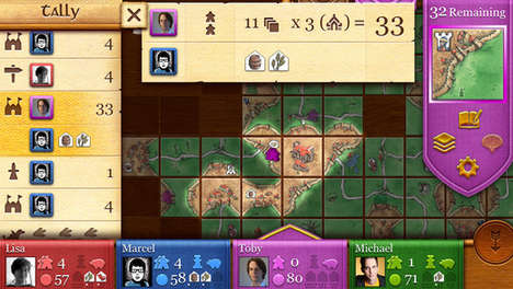 Medieval Board Games - The Carcassone Board Game Retains Its Old-World Charm On Your iPhone and iPad
