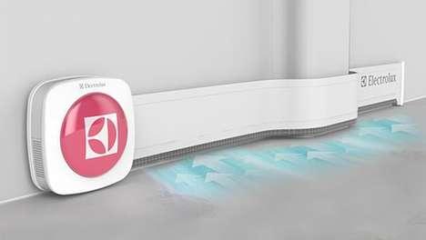 Handy Ribbon Hoovers - This Skirting Board Vacuum Sucks Up Dust Along the Walls