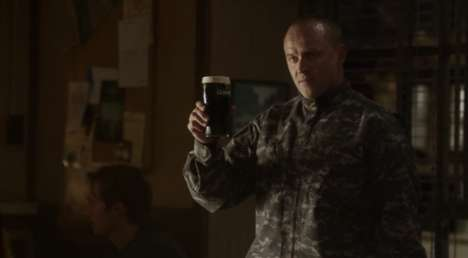 Patriotic Beer Ads - Guinness' Empty Chair Commercial Salutes Americans in Uniform