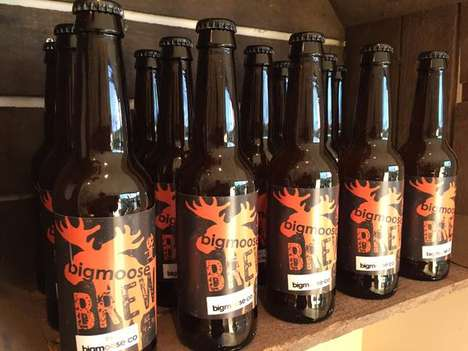 Charitable Athlete Ales - Jeff Smith's Big Moose Beer Improves the Lives of the Less Fortunate