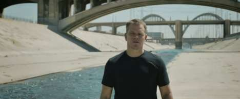 Charitable Water Campaigns - Stella Artois and Matt Damon Urge People to 'Buy a Lady a Drink'