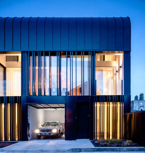 Lavish Townhouse Exteriors - The Percy Lane Townhouses in Dublin Boast Contemporary Facades