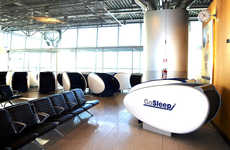 Airport Sleeping Pods - Helsinki's GoSleep Pods Offer Travelers a Place to Securely Rest