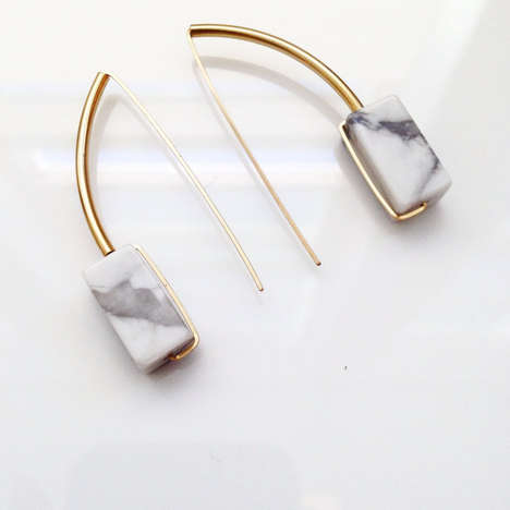 Art Deco Marble Accessories - Etsy's Marble Costume Jewelry Marries Vintage and Modern Elements