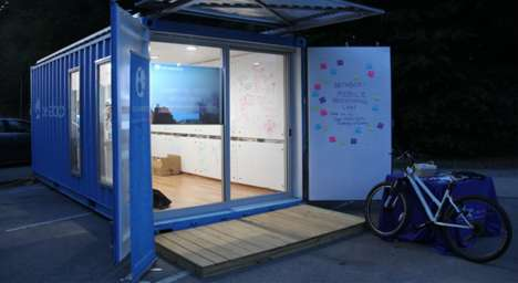 Mobile Makerspace Containers - The Shipping Containers for Rent Provide a Portable Prototyping Lab