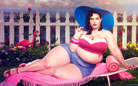 Obese Celebrity Makeovers - A Spanish Artist Photoshops Celebs to Encourage Diverse Body Acceptance