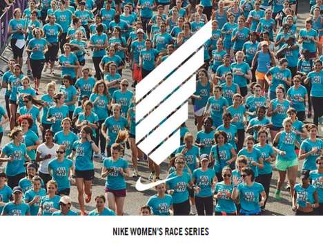 Female-Empowering Sport Events - The Nike Women's Race Series Takes Over 20 Cities Around the World