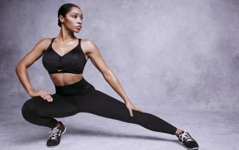 High-Support Sports Bras - The Hero Edition Brings a U-back Design to the Nike Pro Bra Collection