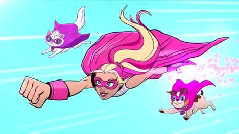 Girl-Empowering Campaigns - The Barbie Be Super Movement Embraces the Superhero Culture