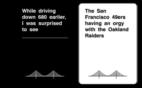 California Drinking Games - Cards Against the Bay Targets Hipsters and Pot Heads