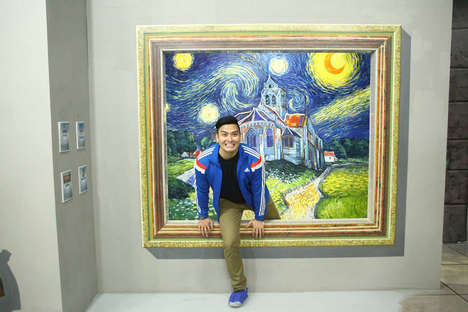 Interactive Art Museums - Manila's Art in Island Gallery Immerses Art Lovers into Paintings