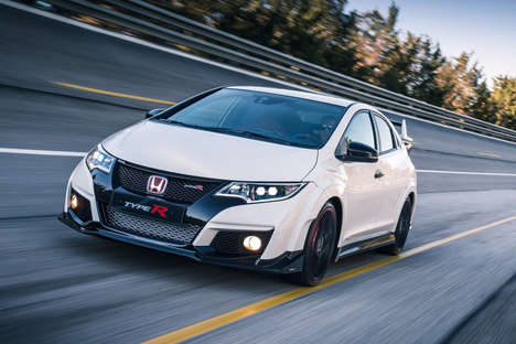 Aggressive Compact Cars - The Honda Civic Type R Boasts Body Kit Armor and 310-Horsepower