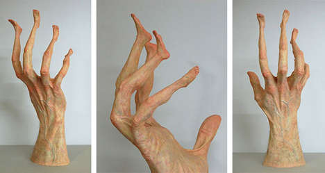 Mutated Human Sculptures - Artist Alessandro Boezio Brings a Deformed Twist to Anatomical Forms