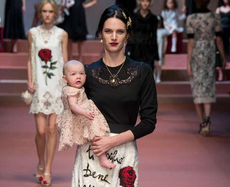 Opulent Maternal Fashion
