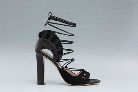 Quirkily Artistic Footwear - Designer Paula Cademartori Releases Her First-Ever Shoe Collection