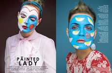 Artsy Facepaint Editorials