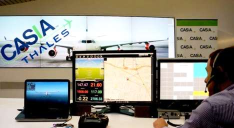 Air Traffic Control Drones - The World's First Talking Drone Uses a Synthetic Voice to Respond