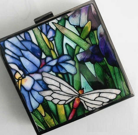 Stained Glass Clutches - The Kamilah Willacy Signature Collection is Vintage-Themed