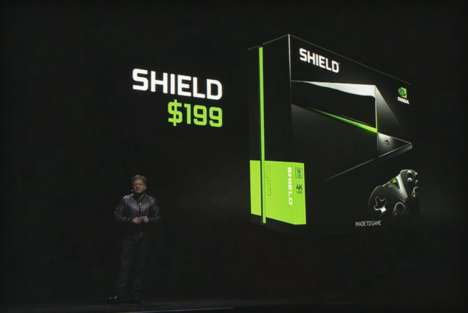 Android TV Consoles - Nvidia Shield is a Sharp, Slim and Minimalist Piece of Technology