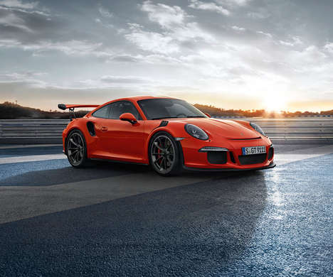 Weight-Reduced Sports Cars - The New Porsche 911 GT3 RS Blurs the Line Between Race and Road Cars