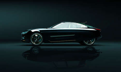 Retro-Futuristic Cars - The DS21 Renaissance by Slimane Toubal is a Concept Inspired by Citroen DS