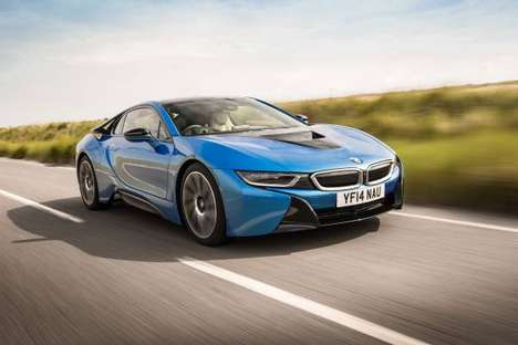 Progressive Sports Cars - The BMW i8 is a Sustainable, High-Performance Sports Car
