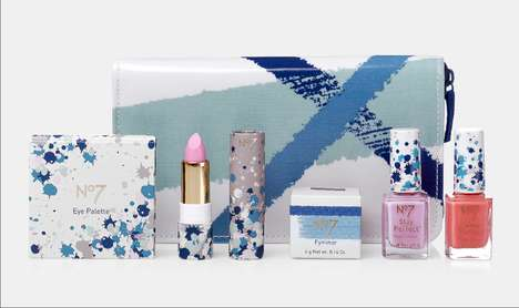Chromatic Beauty Packaging - The Boots No7 Limited Edition Line Boasts Beautiful Packaging