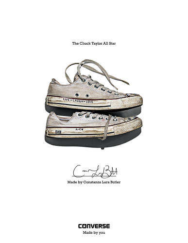 Fan-Celebrating Footwear Ads - The Converse Made by You Campaign Boasts Over 200 Portraits