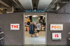Streetwear Archive Pop-Ups - The POOL aoyama Pop-Up Features a Curated Selection of Urban Clothing