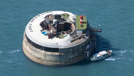 Floating Army Hotels - This 134-Year-Old British Sea Fort is Now a Full Fledged Luxury Hotel