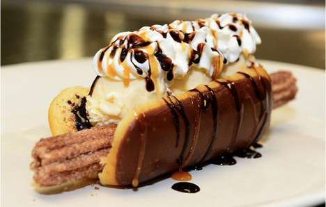 Decadent Churro Desserts - The Churro Dog Will Be Available at Chase Field Concession Stands