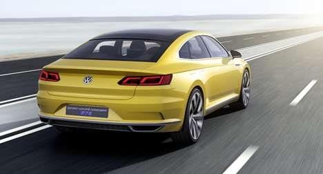Sporty Plug-In Cars - The VW Sport Coupe Concept Blends Speed and Fuel Economy