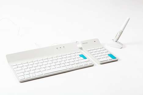 Pen Mouse Peripherals - Penclic Creates a Bluetooth Alternative to Its Original Design