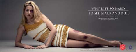 Viral Domestic Abuse Campaigns - The Salvation Army Turns the Dress Debate on Its Head