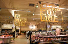 Art Deco Supermarkets - E.Leclerc's Bordeaux Grocery Store Design Takes Style Cues from the 30s