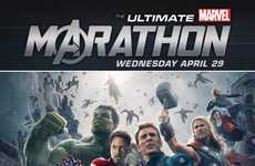 Promotional Movie Marathons - The Ultimate Marvel Marathon Tees Up Avengers: Age of Ultron's Release