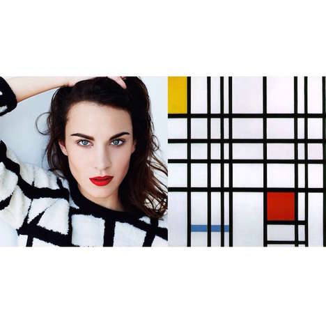Comparative Art Accounts - This Creative Instagram Account Pairs Alexa Chung with Paintings