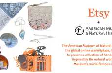 Museum-Inspired Accessories - The American Museum of Natural History x Etsy Collaboration is Chic