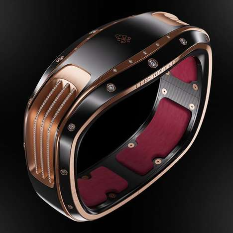 Extravagant Smart Jewelry - The New Line From Christophe & Co Will Transform Tech-Equipped Bracelets