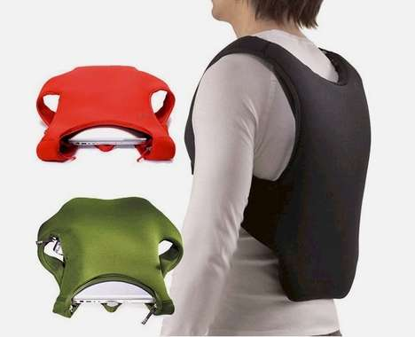 Laptop-Carrying Vests