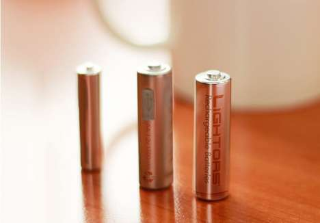 USB Rechargeable Batteries - Lightors Batteries Get Extra Energy from Electronic Devices