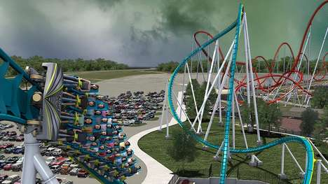 Insect-Inspired Roller Coasters - The Fury 325 is the World's Tallest and Fastest Roller Coaster