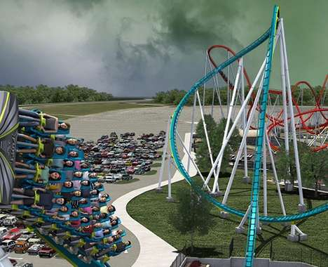 Insect-Inspired Roller Coasters