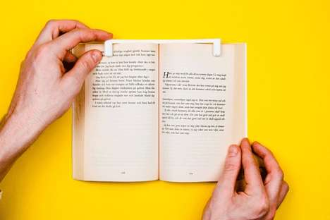 Minimalist Reading Devices - The Transparent Book Holder Design Ingeniously Holds Pages in Place