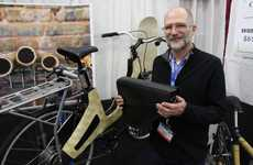 Bamboo E-Bikes - The Bamboost E-Bike Features Balsa Wood and 3D-Printed Parts