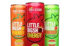 Mineral-Rich Energy Drinks - Little Big Shot Energy Drinks Do Away with Caffeine and Taurine